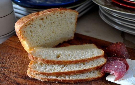 How To Make No Knead Kefir Bread On A Snowy Slushy Snainy Day Kefir Recipes Fermented Bread Recipes With Yeast