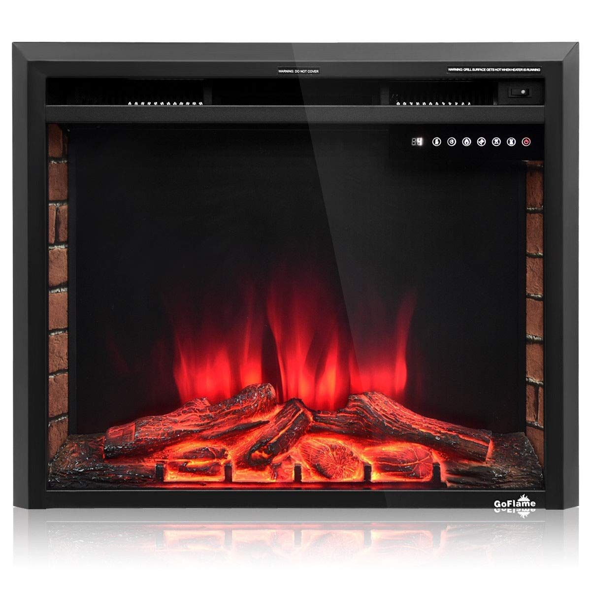 Amazon Com Tangkula Electric Fireplace Insert 30 Smokeless