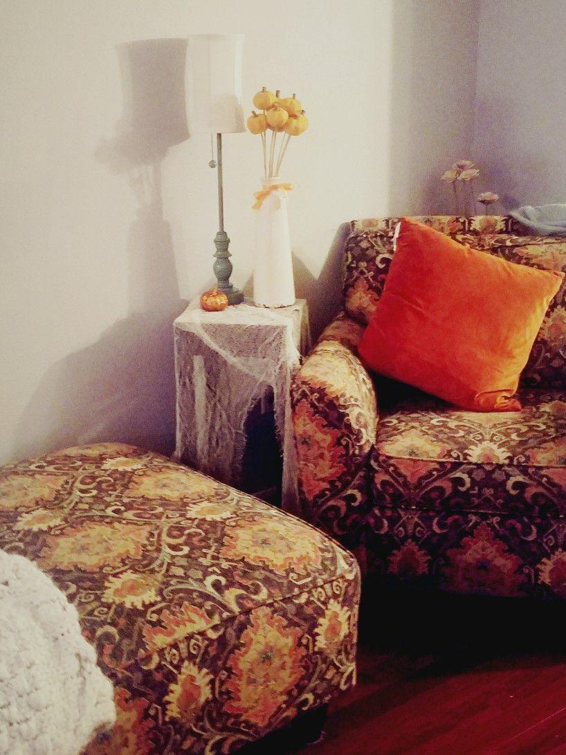 Cozy Halloween decor Home decor, Chaise lounge