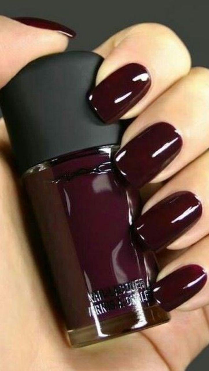💅 101 Trending Nail Art Ideas   Deep purple, Makeup and Beauty nails