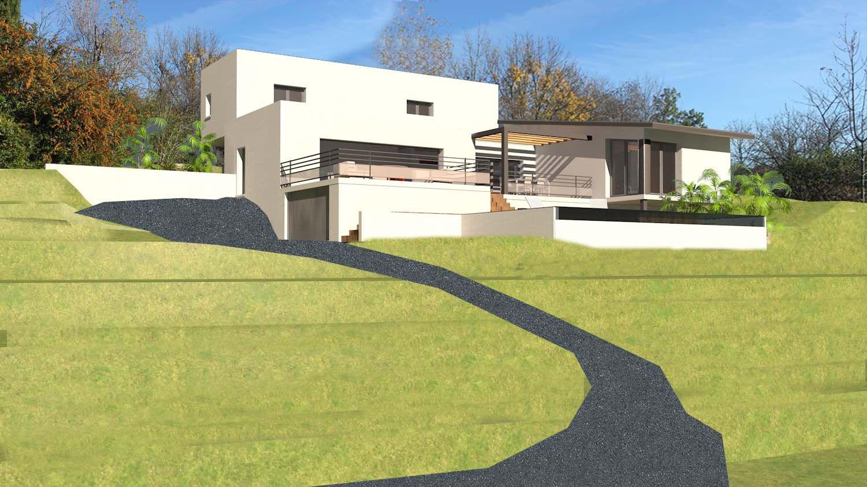 Construction Maison Sur Terrain En Pente