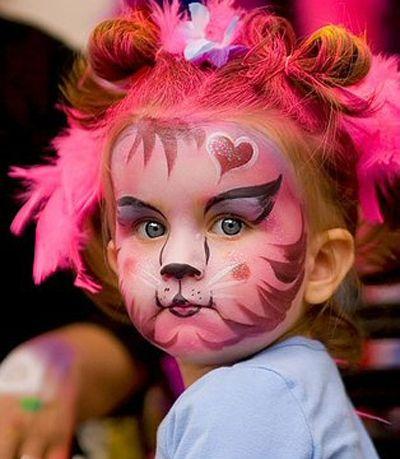 quel maquillage choisir pour le carnaval halloween makeup pinterest maquillage enfant. Black Bedroom Furniture Sets. Home Design Ideas