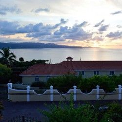Sunset over Vista House - #MontegoBayLodging