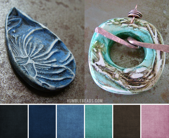 Palette's created by Brandi Hussey inspired by my beads.