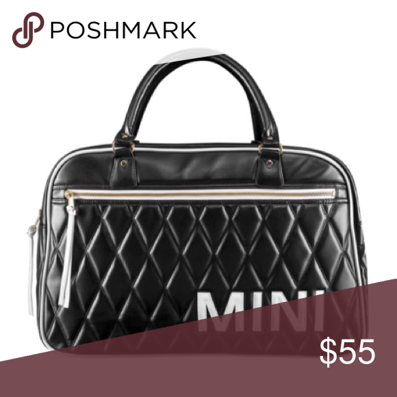 Mini Cooper Quilted Weekender Style Bag Bags New Mini Cooper Style