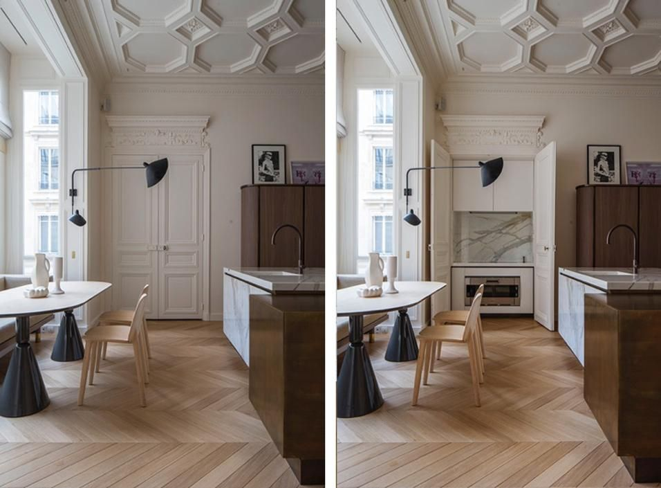 300 mq a Parigi Idee per decorare la casa, Appartamenti