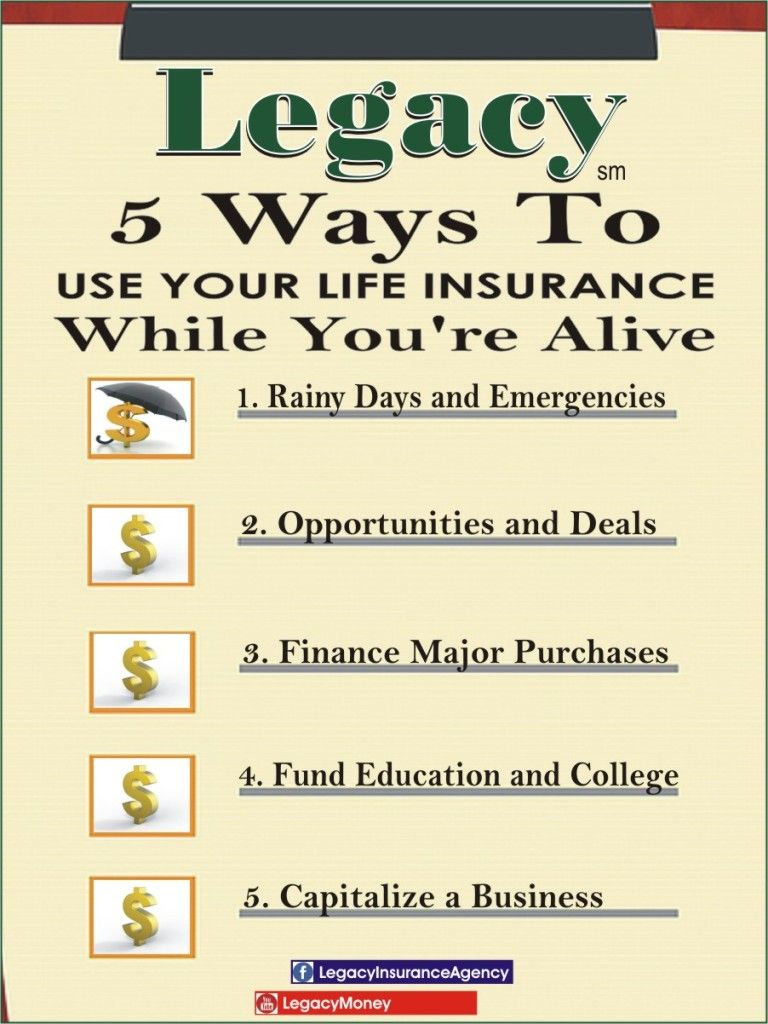 5 Ways To Use Your Life Insurance While You Re Alive Life Insurance Quotes Life Insurance Policy Life Insurance