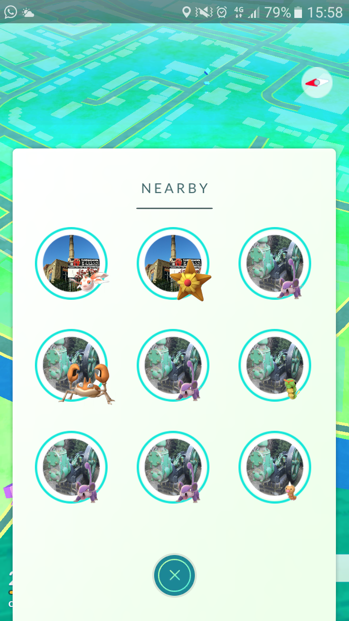 There really needs to be a limit to how many pokemon are shown from the same stop