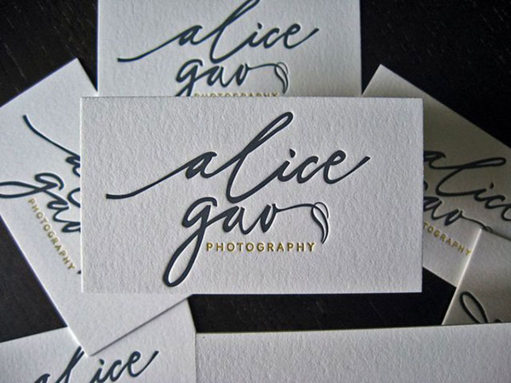 30 Incredible Letterpress Business Card Examples | UltraLinx ...