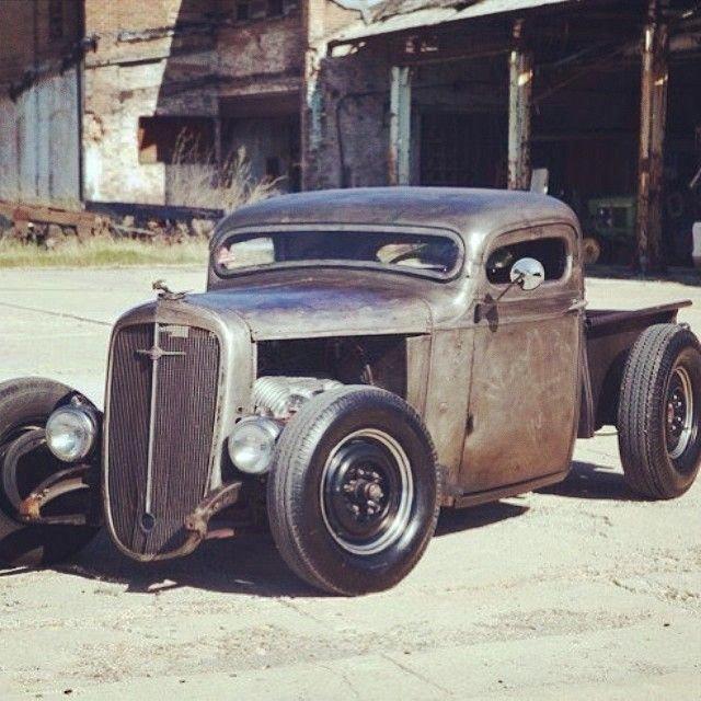 Rat Rod Roadster Pickup #Ratrodtrucks