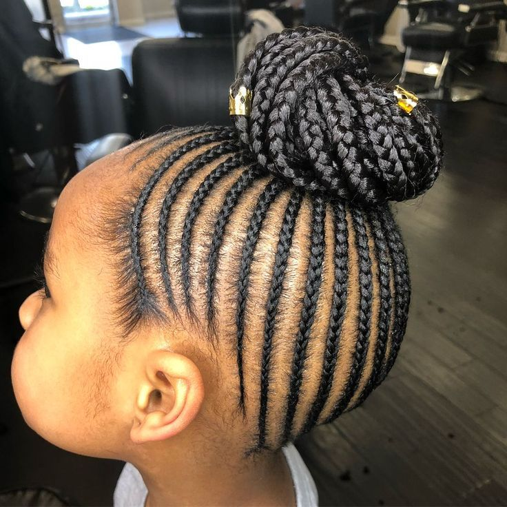 Beautiful Kids Cornrow Styles For Your Little Girls Hair Hairstyles Hairgoals Girls Natural Hairstyles Girls Hairstyles Braids Hair Styles