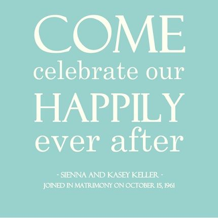 A wedding anniversary is a romantic reminder to celebrate the one - invitation letter for wedding ceremony