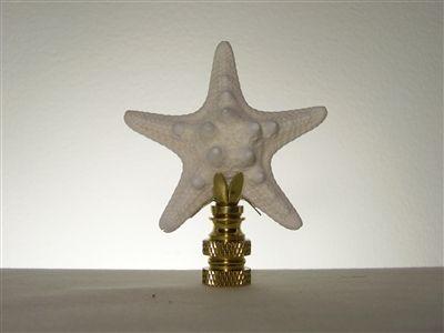 Starfish Lamp Finial Lamp Finial Nautical Lamps Lamp