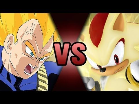 Shadow The Hedgehog Vs Vegeta