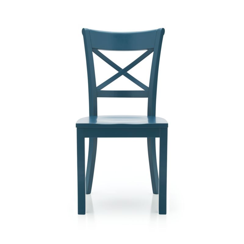 Vintner Peacock Side Chair | Crate And Barrel Love The Color Again, Also  Comes In