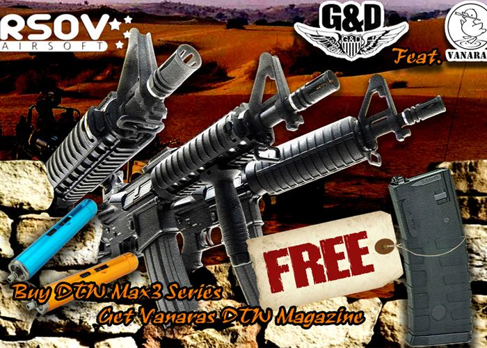 G&D DTW Max3 Series Free Mag Promo