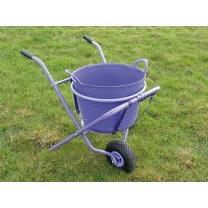Saddlers Rhino Runna A Fold Down Trolley For Carrying A 40 Litre Flexi Tub Easy To Use And Folds Flat For Hanging On A Wall Bucket Not Plantas