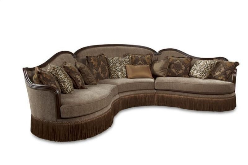 5095095427AB In By A.R.T. Furniture In Bismarck, ND   Giovanna Sable Left  Arm Facing Loveseat