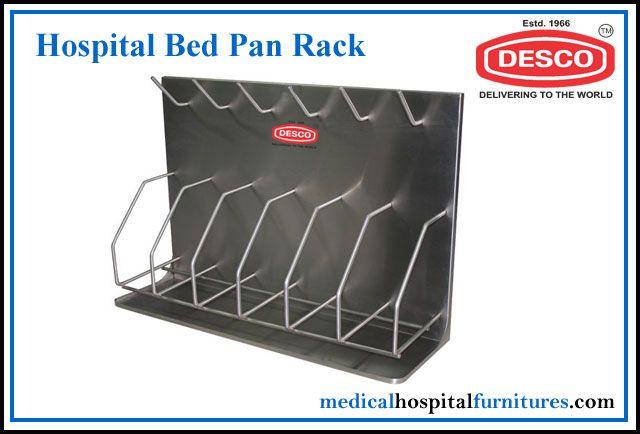 HOSPITAL BED PAN RACK DELUXE SCIENTIFIC SURGICO PVT LTD ROHIT