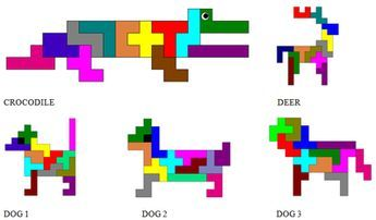 Persnickety image within pentominoes printable
