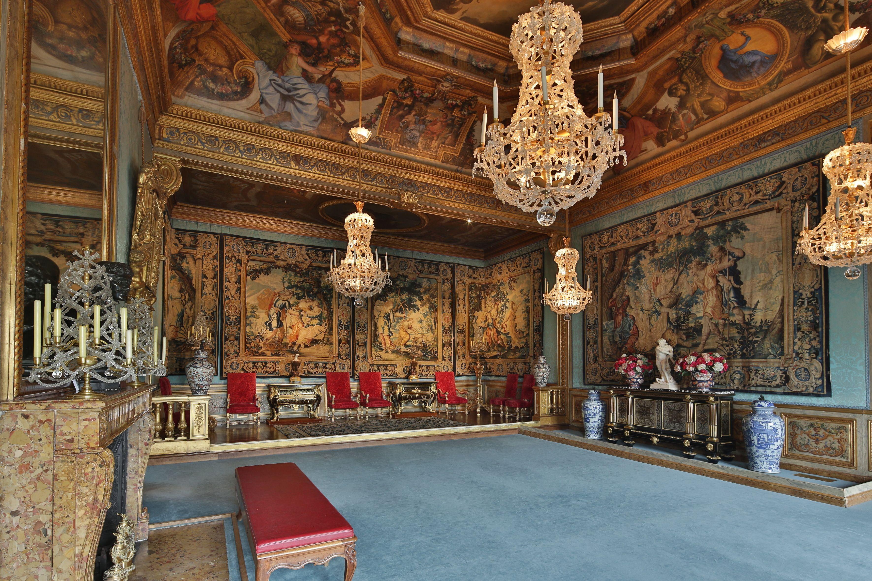 La Chambre Des Muses C Yann Piriou Vaux Le Vicomte Chateau De Val Chateau