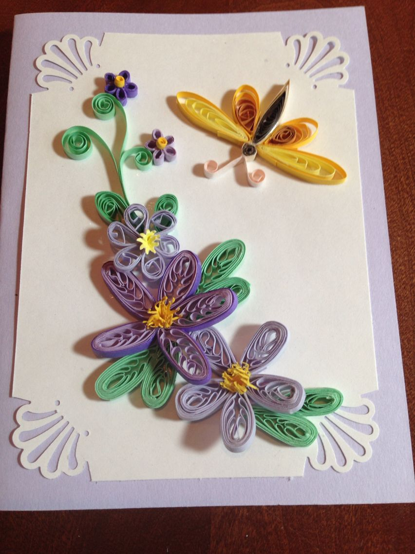 somethings different  quilling cards quilling paper