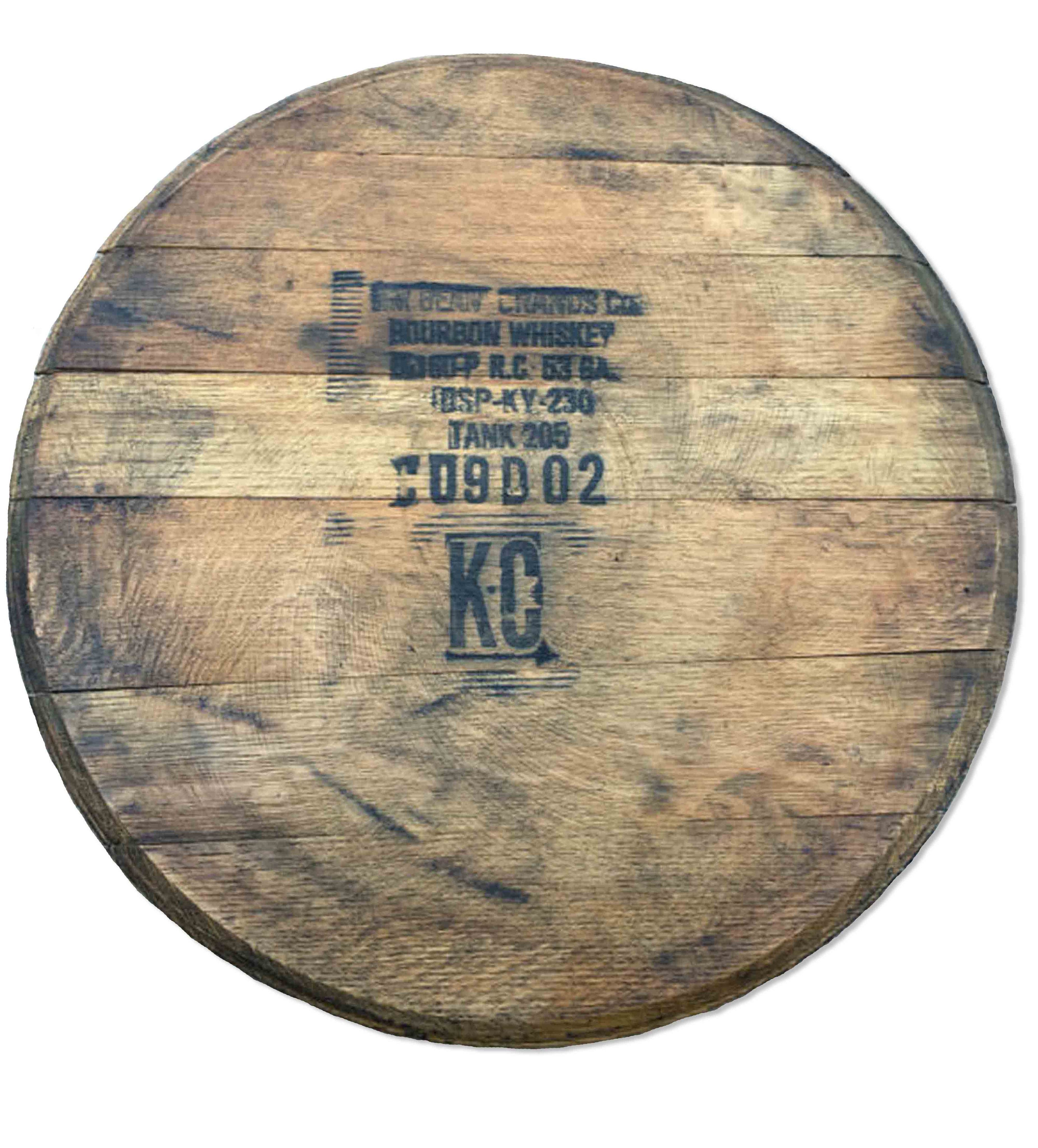 Vintage Jack Daniels Whiskey Barrel Lazy Susan 21 Inches
