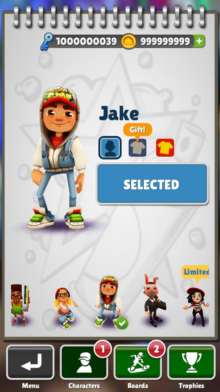 download subway surf unlimited coin and key apk
