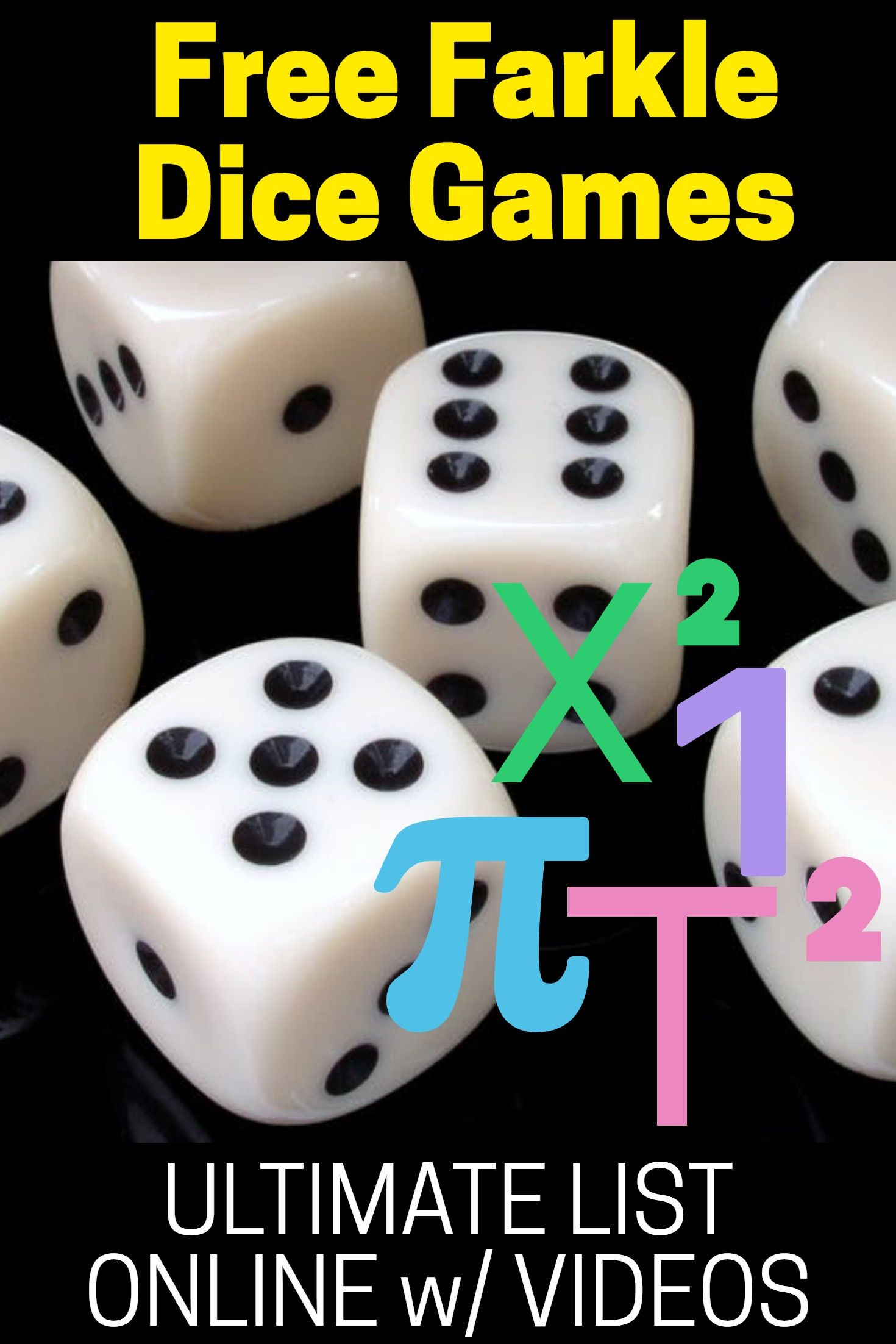 Free Farkle Dice Games in 2020 Dice games, Games, Games