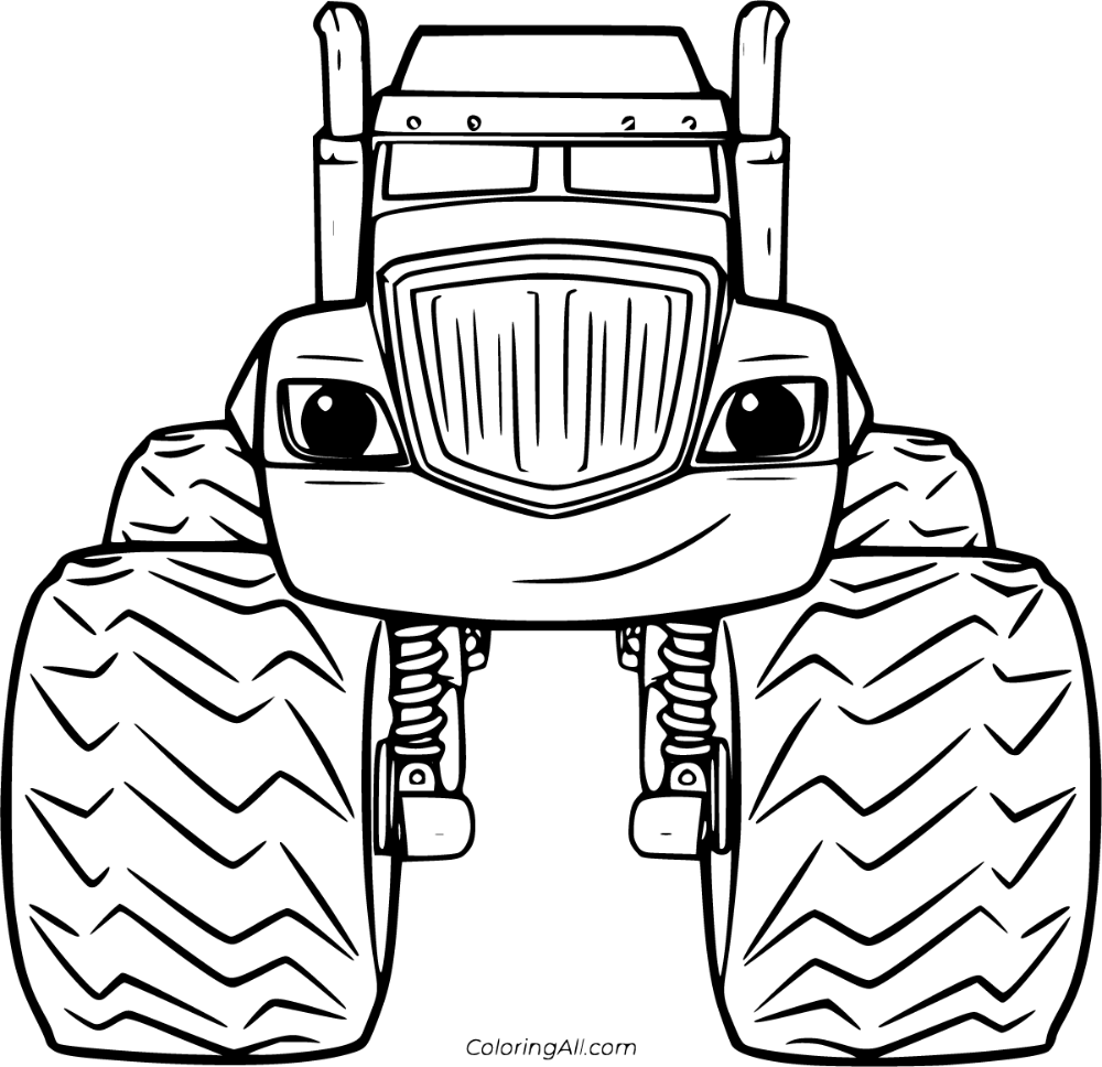 30 Free Printable Blaze And The Monster Machines Coloring Pages In Vector Format Easy To Pr Monster Coloring Pages Monster Truck Coloring Pages Coloring Pages