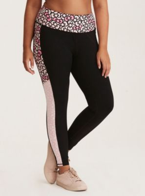 b007eaca0 Hello Kitty Active Bow Print Leggings- 20% of Proceeds go Towards Breast  Cancer Research in Black