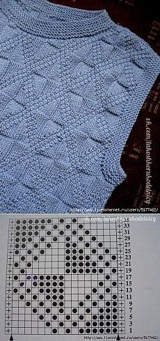Knit-purl stitch