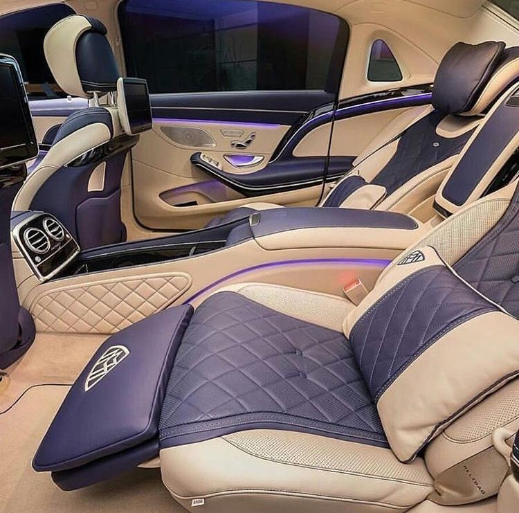The Luxurious Maybach Interior Luxury Cars Best Luxury Cars