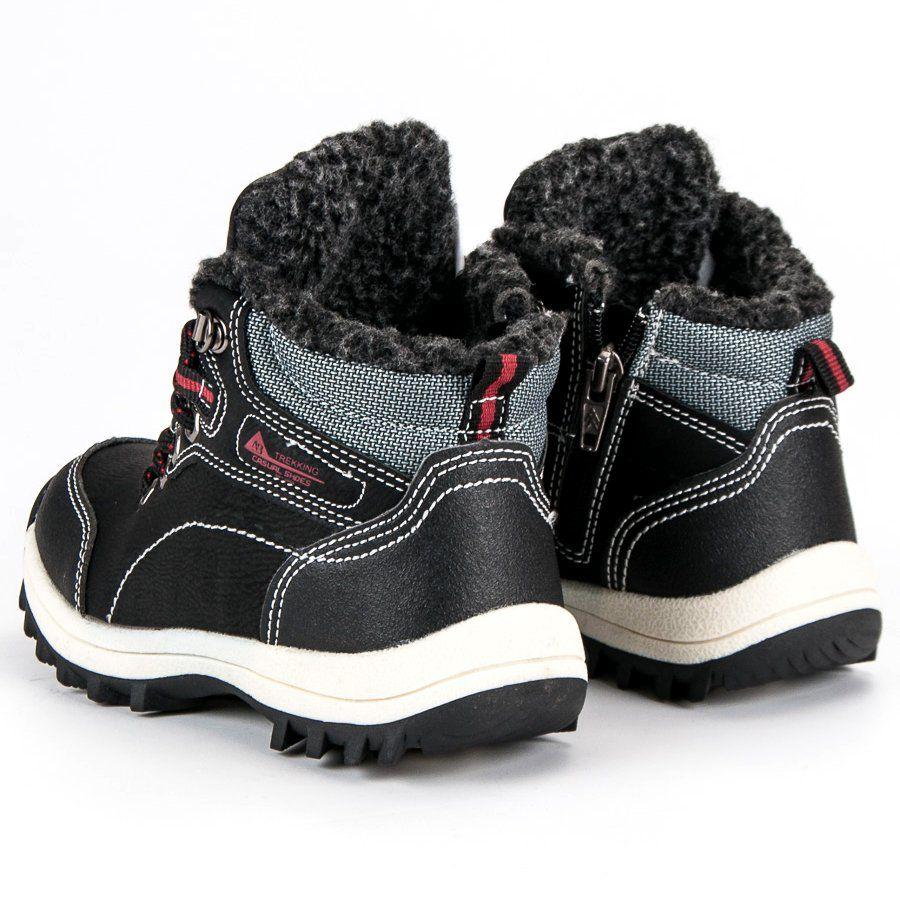 Kozaki Dla Dzieci Arrigobello Arrigo Bello Czarne Chlopiece Buty Z Kozuszkiem Boots Sorel Winter Boot Shoes