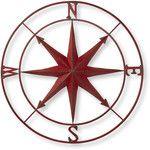 Creative Co-Op  Metal Compass Rose