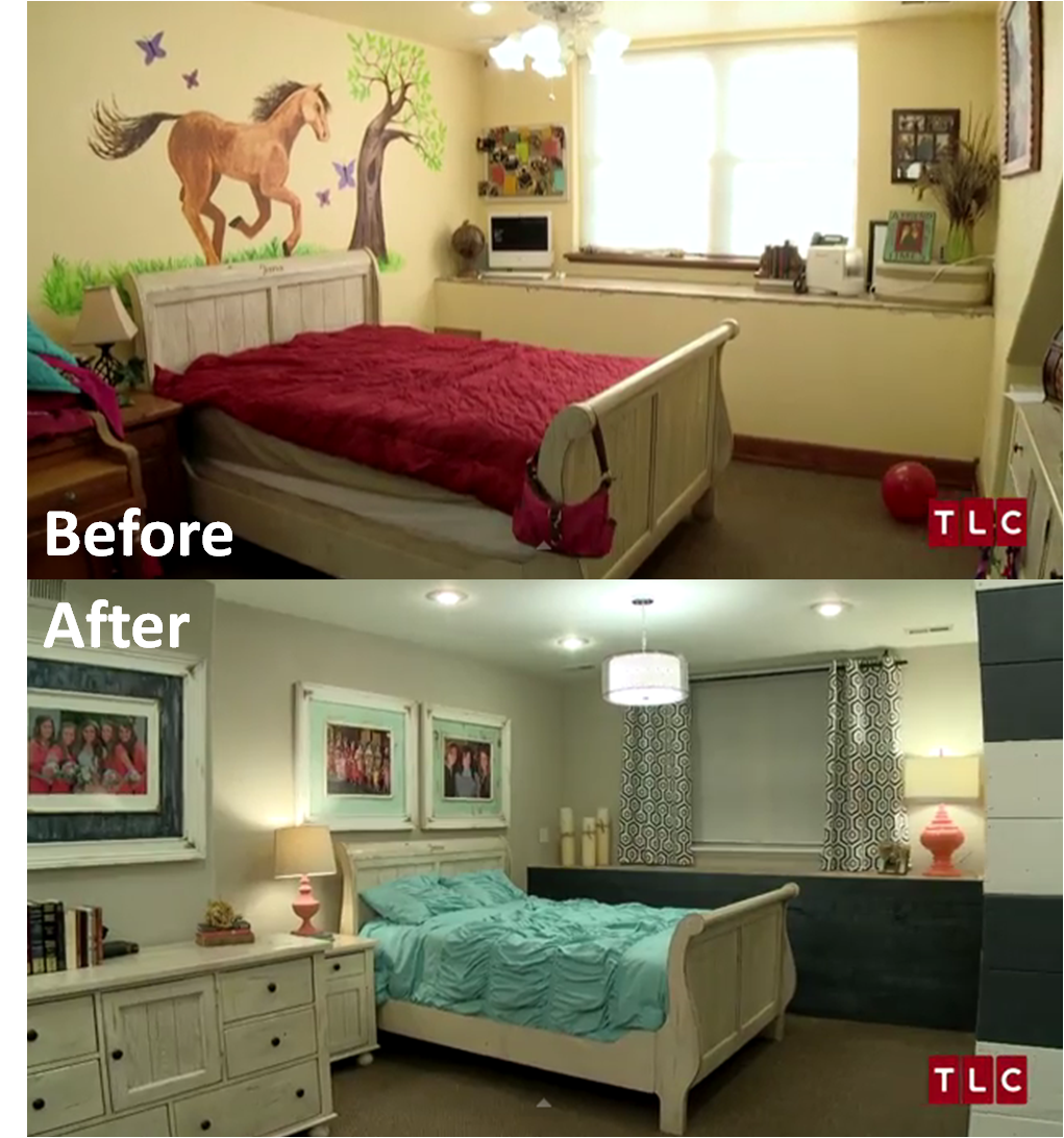 Girls' Room: Before And After