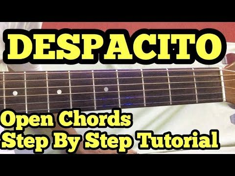 Despacito Fingerstyle Tabs Guitar Lesson Tutorial How To Play