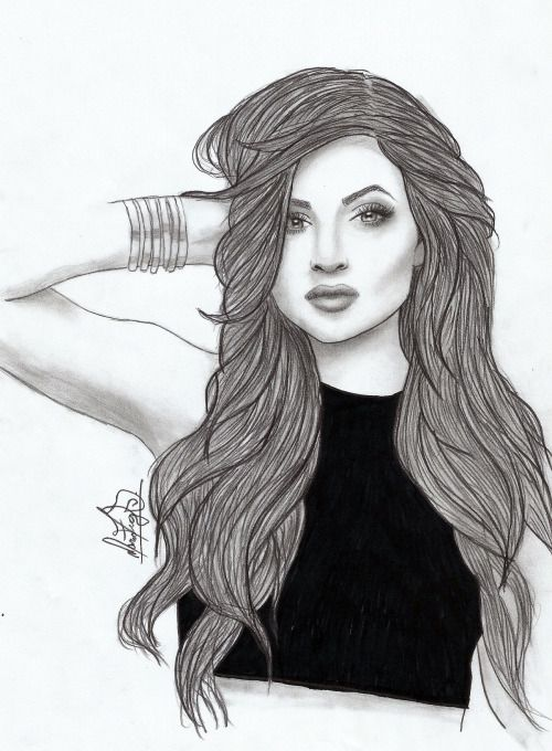 Kylie Jenner Drawing Tumblr With Images Kylie Jenner Drawing