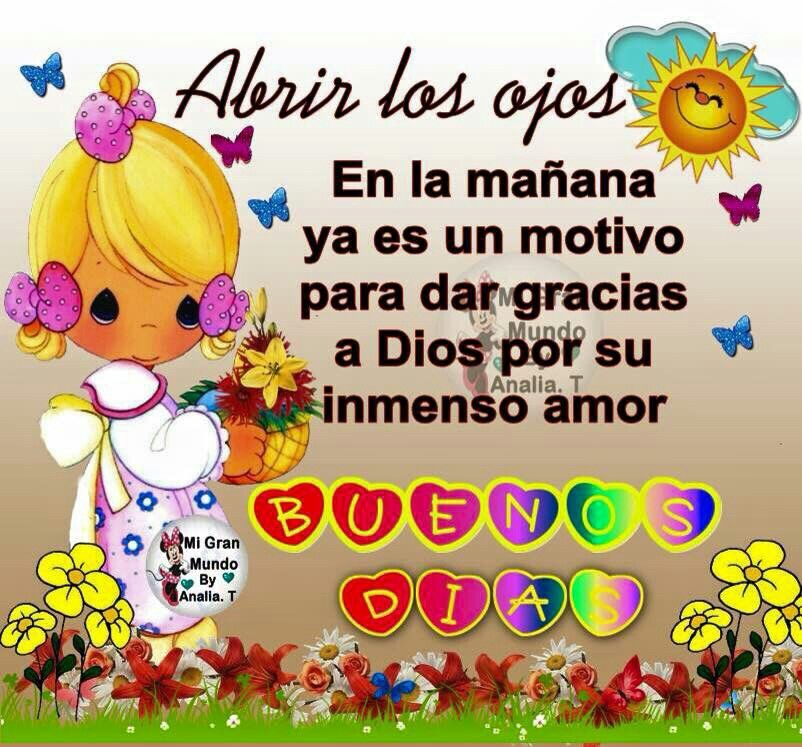 buenos días! | Good morning in spanish, Good morning good ...