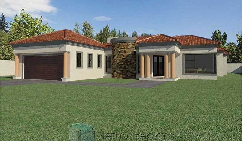 3 Bedroom House Plans South Africa House Designs Nethouseplansnethouseplans In 2020 House Plans South Africa Beautiful House Plans Bedroom House Plans