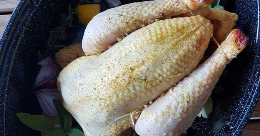 Poulet rôti sauge & citron | Ma p'tite cuisine