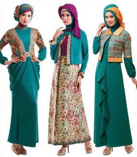 Model Baju Muslim Tanah Abang Terbaru Tahun 2015 Baju