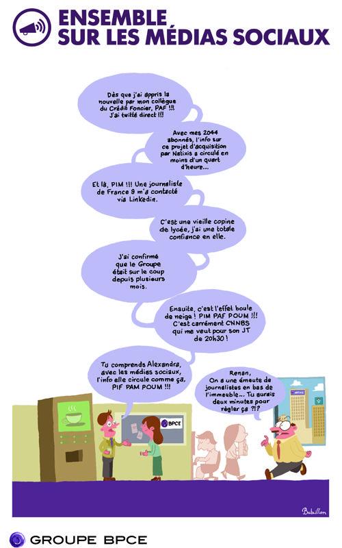 Les Employes De Banque Et Les Reseaux Sociaux Reseaux Sociaux