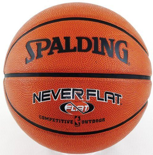 Spalding Nba Neverflat Rubber Basketball Competitive Edge Products Basketball Ball Nc State Basketball Basketball