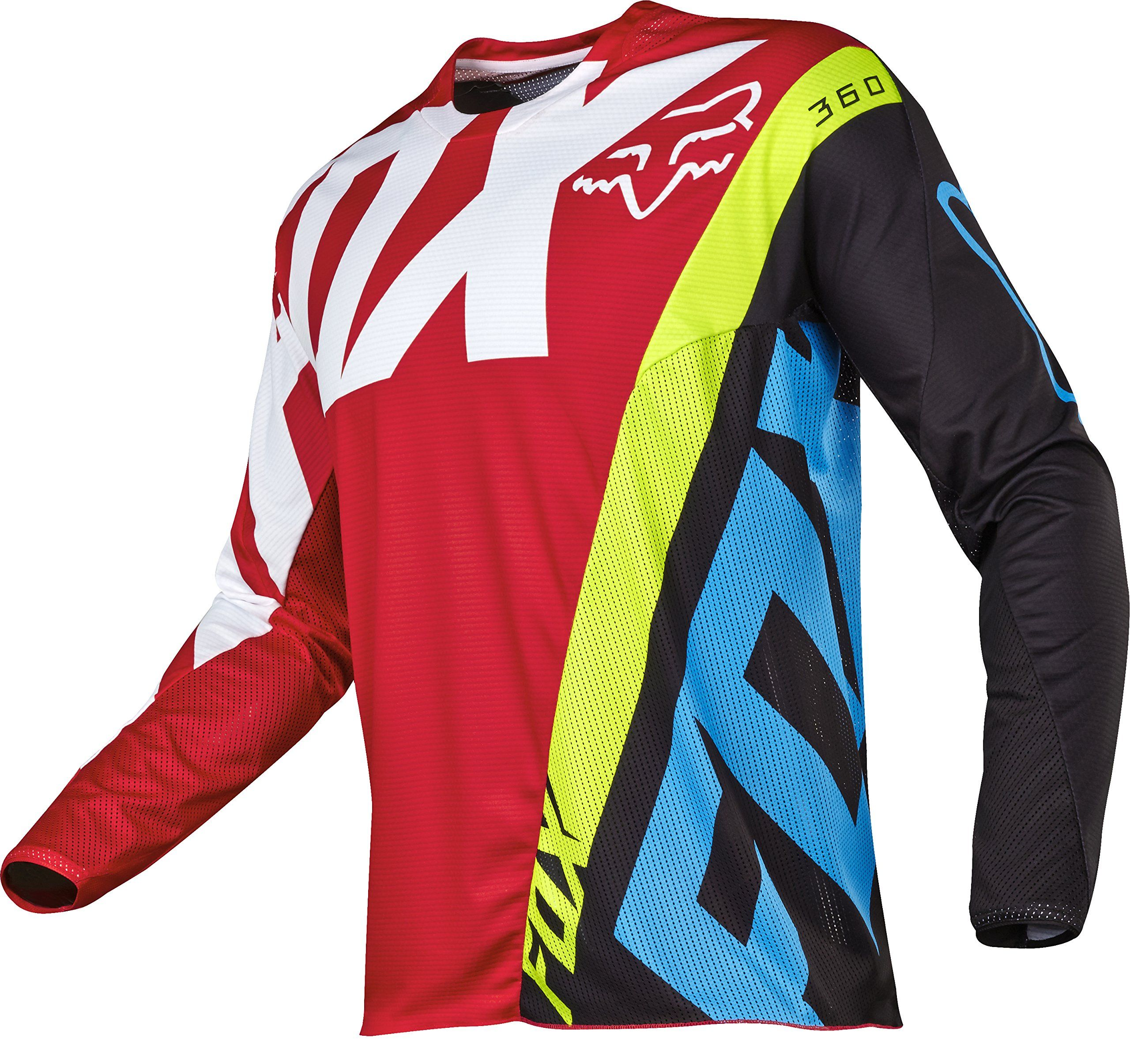 2017 FOX Racing MX Motocross 360 Creo Jersey Red Black Men's -- Awesome  products selected