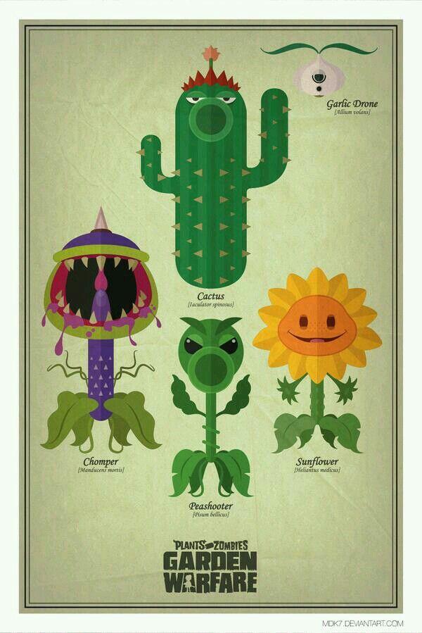 Awesome plants Vs. Zombies garden warfare art | FANDOMS UNITE ...