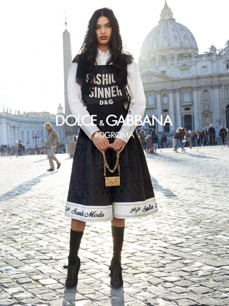 1675bd2750c20 Scopri la Campagna Pubblicitaria della collezione Donna Autunno Inverno  2018-19 by Dolce   Gabbana