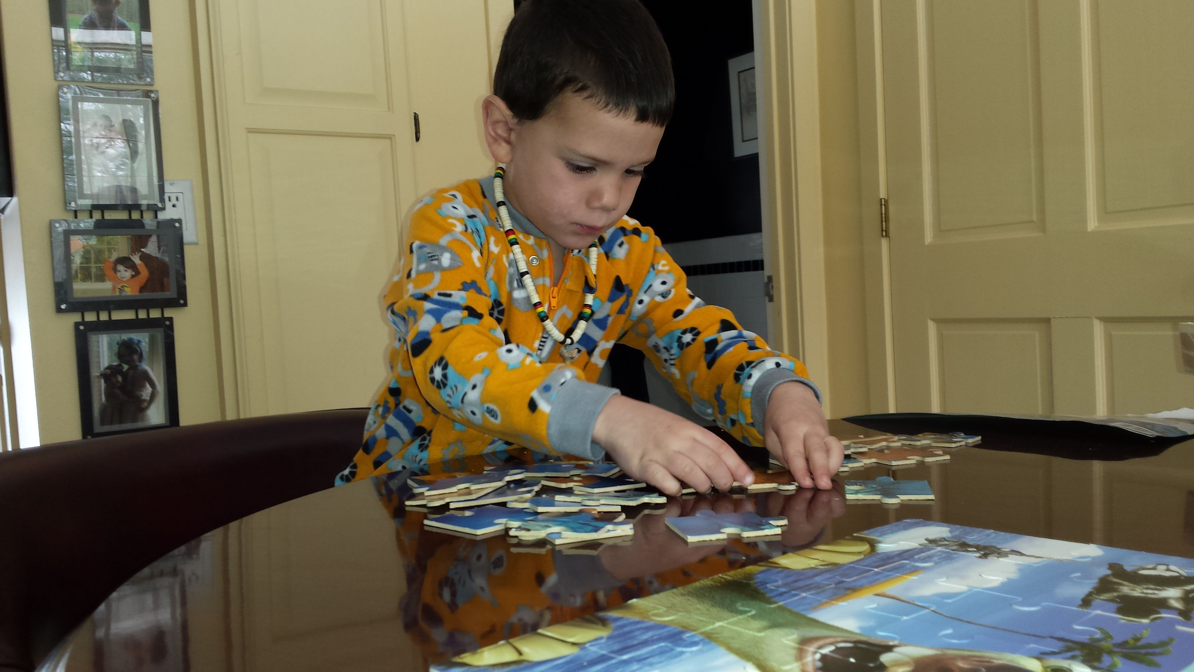 With all the technology at our disposal, it is easy to forget how important the simple things are for a child. Doing a puzzle not only requires dedication and attention it teaches and allows a chil...