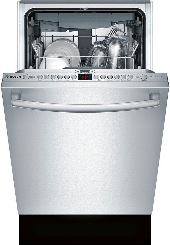Bosch Spx68u55uc 18 Inch Fully Integrated Built In Dishwasher With 10 Place Settings 6 Wash Cycles 3rd Rack 44 Dba Sound Level Aquastop Rackmatic Infoli Built In Dishwasher Integrated Dishwasher Quiet Dishwashers