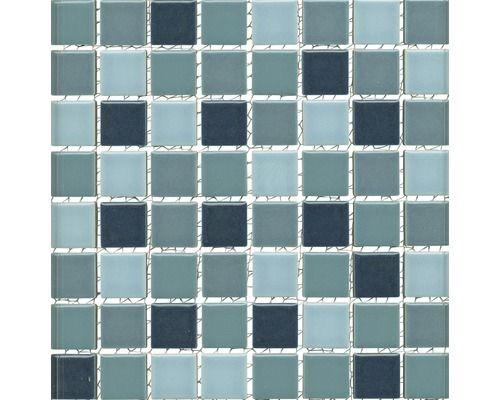 Keramikmosaik JT X Cm Mix Blau Bei HORNBACH Kaufen - Fliesen für mosaik kaufen